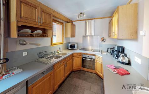 Holiday in mountain resort 10 room chalet 18 people (LET) - Chalet de la Villette - Saint Martin de Belleville - Kitchen