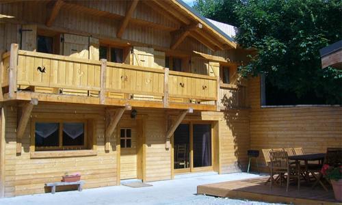 Location au ski Chalet mitoyen 6 pièces 12 personnes - Chalet De Marie - Les 2 Alpes - Extérieur été