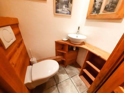Vacances en montagne Chalet duplex 5 pièces 12 personnes - Chalet des Encombres - Saint Martin de Belleville - Chambre mansardée