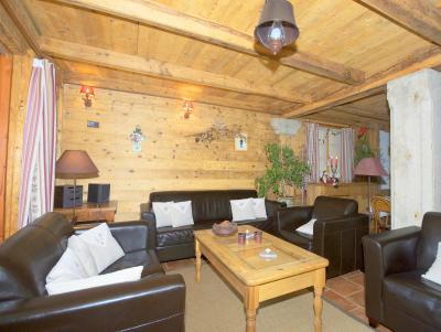 Vacances en montagne Chalet Deux Têtes I - Les Arcs - Canapé