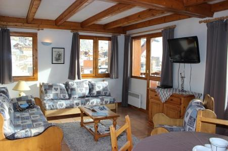 Holiday in mountain resort 2 room apartment 5 people (4) - Chalet Emeraude - Val Thorens - Living room