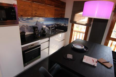 Holiday in mountain resort 4 room mezzanine apartment 8 people (5) - Chalet Emeraude - Val Thorens
