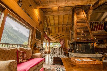 Vacances en montagne Chalet 5 pièces 8 personnes - Chalet Eole - Chamonix - Séjour