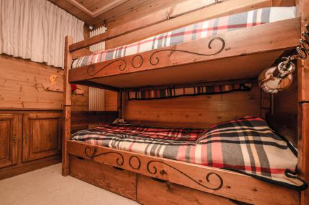 Vacances en montagne Chalet 6 pièces 8 personnes - Chalet Eole - Chamonix - Lits superposés