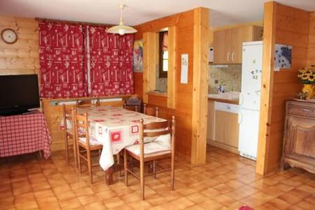 Holiday in mountain resort 2 room apartment cabin 4 people - Chalet Etche Ona - Le Grand Bornand - Table