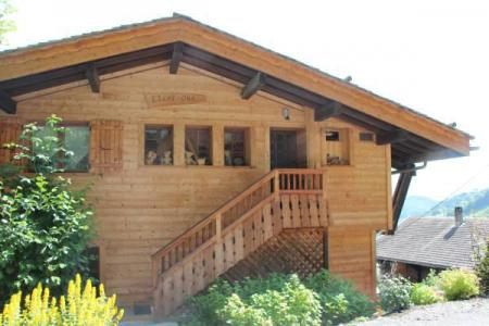 Holiday in mountain resort 2 room apartment cabin 6 people - Chalet Etche Ona - Le Grand Bornand - Summer outside