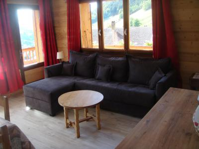 Holiday in mountain resort 2 room apartment cabin 6 people - Chalet Etche Ona - Le Grand Bornand