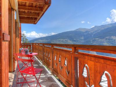 Rent in ski resort Chalet Etoile des 4 Vallées - Thyon - Summer outside