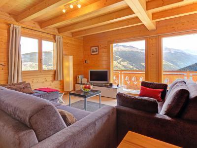 Vacances en montagne Chalet Etoile des 4 Vallées - Thyon - Séjour