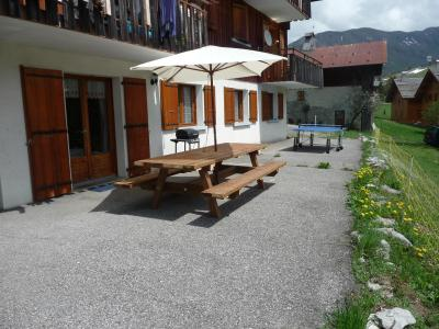 Holiday in mountain resort Chalet Fleur des Alpes - Le Grand Bornand - Summer outside