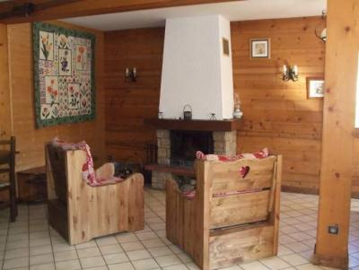 Holiday in mountain resort 5 room apartment 9 people - Chalet Fontaine - Le Grand Bornand - Fireplace