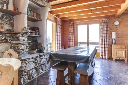 Vacances en montagne Chalet 6 pièces 10 personnes - Chalet Forsythia - Peisey-Vallandry - Salle à manger