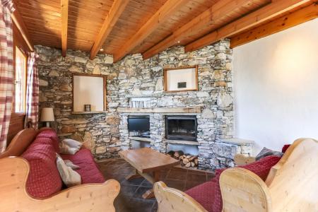 Vacances en montagne Chalet 6 pièces 10 personnes - Chalet Forsythia - Peisey-Vallandry - Séjour