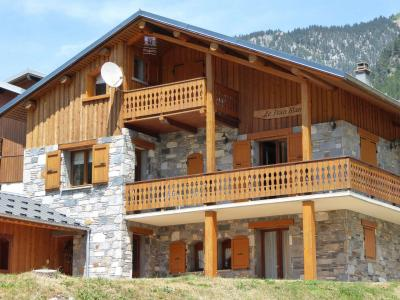 Rent in ski resort Chalet Fran Blanc - Pralognan-la-Vanoise - Summer outside