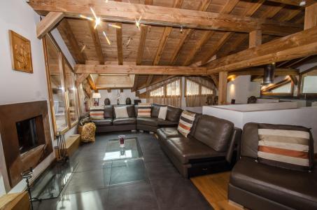Vacances en montagne Chalet 5 pièces 8 personnes - Chalet Gaia - Chamonix - Séjour