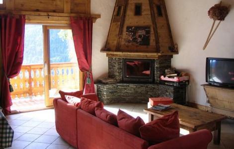 Vacances en montagne Chalet Gaiduch - La Rosière - Canapé-lit