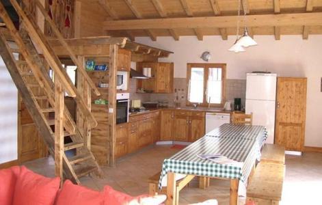 Vacanze in montagna Chalet Gaiduch - La Rosière - Cucinino