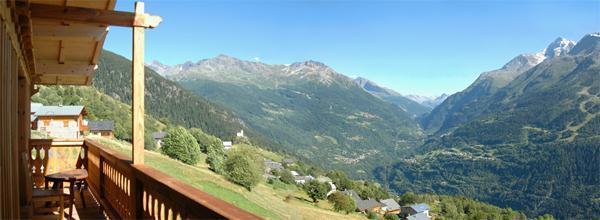 Location au ski Chalet 6 pièces mezzanine 14 personnes - Chalet Gaiduch - La Rosière - Extérieur été