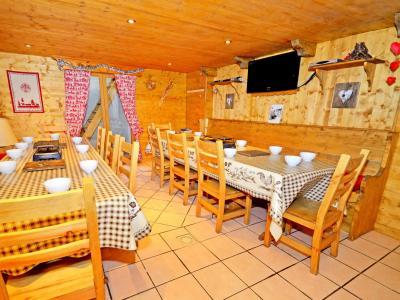 Vacances en montagne Chalet Grand Arbet - Champagny-en-Vanoise - Salle à manger