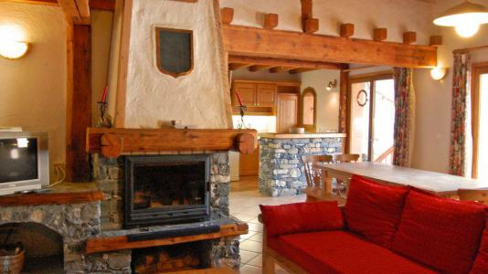Vacances en montagne Appartement duplex 6 pièces 10 personnes - Chalet Gremelle - Saint Martin de Belleville - Cheminée