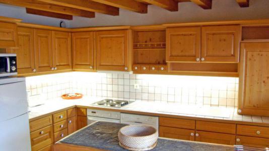 Vacances en montagne Appartement duplex 6 pièces 10 personnes - Chalet Gremelle - Saint Martin de Belleville - Cuisine