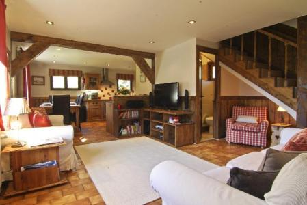 Holiday in mountain resort 4 room chalet 6 people (bediere) - Chalet Griotte - Chamonix - Living room