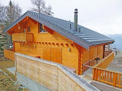 Location au ski Chalet 8 pièces 16 personnes - Chalet Harmonie - La Tzoumaz - Extérieur été