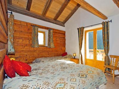 Vacances en montagne Chalet Honoré - Peisey-Vallandry - Chambre mansardée