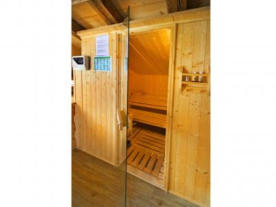 Vacances en montagne Chalet Honoré - Peisey-Vallandry - Sauna