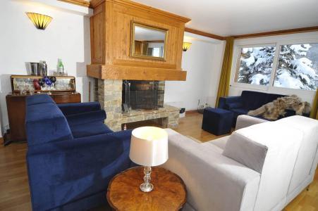 Holiday in mountain resort Chalet Iona - Méribel - Living room