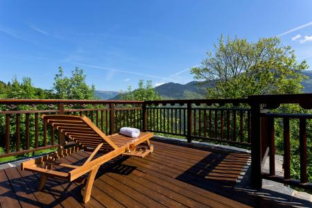 Holiday in mountain resort Chalet Iona - Méribel - Terrace