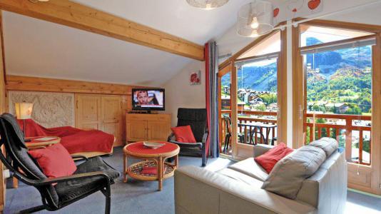Vacances en montagne Appartement duplex 3 pièces 5 personnes - Chalet Iris - Saint Martin de Belleville - Séjour