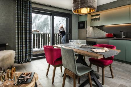 Vacances en montagne Appartement 3 pièces 4 personnes - Chalet Izia - Val d'Isère - Coin repas