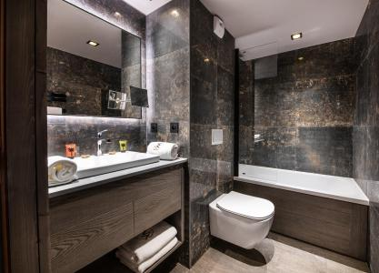 Vacances en montagne Appartement 3 pièces 4 personnes - Chalet Izia - Val d'Isère - Salle de bains
