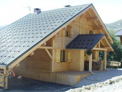 Location au ski Chalet 5 pièces mezzanine 12 personnes - Chalet Jardin D'hiver - La Toussuire - Extérieur été