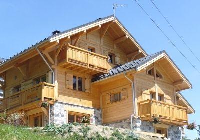 Location au ski Chalet Jardin D'hiver - La Toussuire - Extérieur été