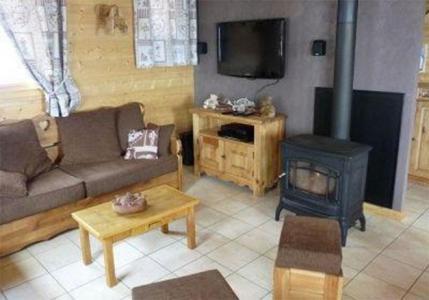 Vacanze in montagna Chalet Jardin d'Hiver - La Toussuire - Stufa a legna