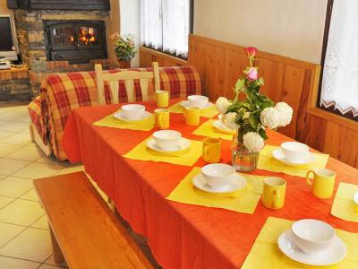 Vacances en montagne Chalet Joly - Champagny-en-Vanoise - Salle à manger