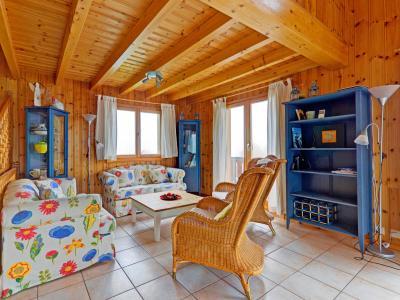 Vacances en montagne Chalet Krokus - Thyon - Canapé