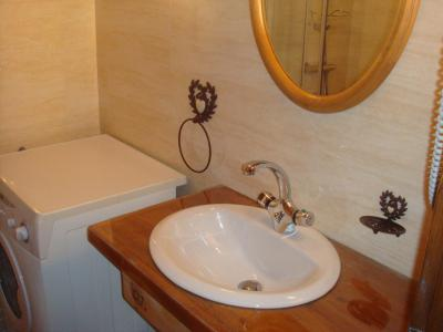 Holiday in mountain resort 3 room duplex apartment 4 people - Chalet l'Antarès - Valloire