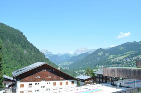 Rent in ski resort 3 room apartment 6 people (1) - Chalet l'Epicéa - Châtel - Summer outside