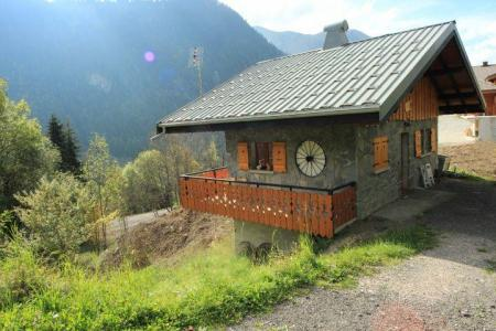 Rent in ski resort Chalet la Fouine - Châtel - Summer outside