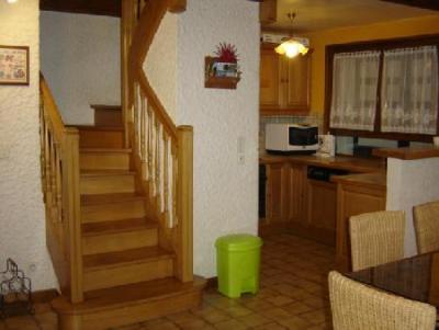 Vacances en montagne Appartement duplex 3 pièces 6 personnes - Chalet la Galettière - Châtel - Escalier