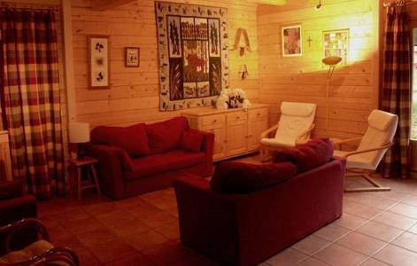 Vacances en montagne Chalet la Lauze - Les 2 Alpes - Canapé