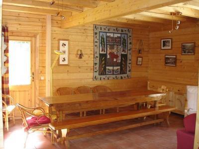 Vacances en montagne Chalet la Lauze - Les 2 Alpes - Coin repas