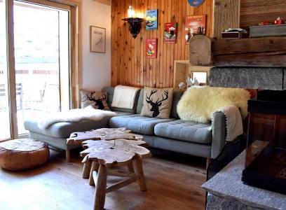 Vacances en montagne Chalet 5 pièces 12 personnes - Chalet la Mia - Méribel - Séjour