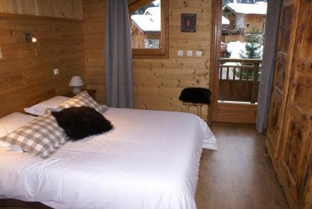 Vacances en montagne Chalet duplex 5 pièces 8-10 personnes - Chalet la Sauvire - Champagny-en-Vanoise - Lit double