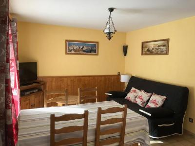 Holiday in mountain resort Chalet le 1244 - Champagny-en-Vanoise - Living room