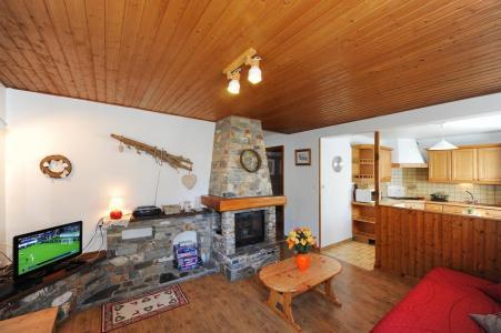 Vacances en montagne Appartement 3 pièces 4-6 personnes - Chalet le Chamois - Les Menuires - Séjour
