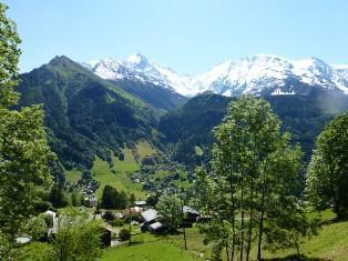 Location au ski Chalet duplex 5 pièces 10 personnes - Chalet Le Chantelet - Saint Gervais - Extérieur été